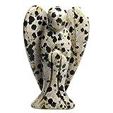 Scarica Libro Statuetta a forma di angelo custode in pietra naturale 5 cm Dalmatian Jasper 5 08 cm (PDF,EPUB,MOBI) Online Italiano Gratis
