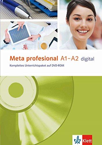 Meta profesional A1-A2 digital: Spanisch für den Beruf. DVD-ROM (Meta profesional / Spanisch für den Beruf)