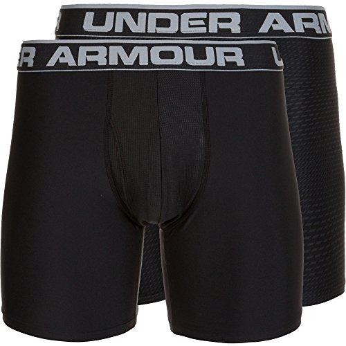 Under Armour Herren Original 6 in 2 Pack Novlty Unterhose Black