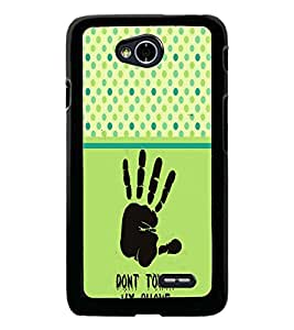 PrintDhaba Quote D-2756 Back Case Cover for LG L90 (Multi-Coloured)