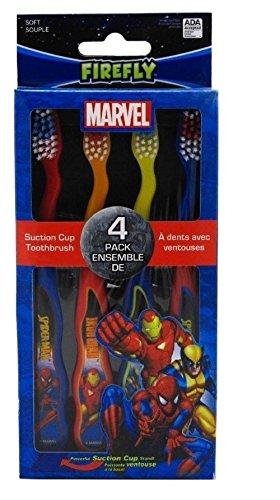 Dr. Fresh Toothbrush 4'S Marvel Heroes (Handzahnbürsten)