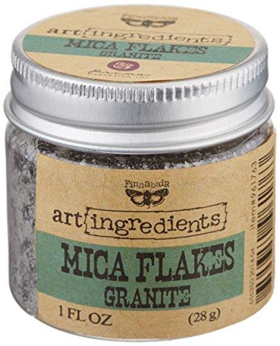 Unbekannt Finnabair Art Ingredients Mica Flakes 1oz-Granite -