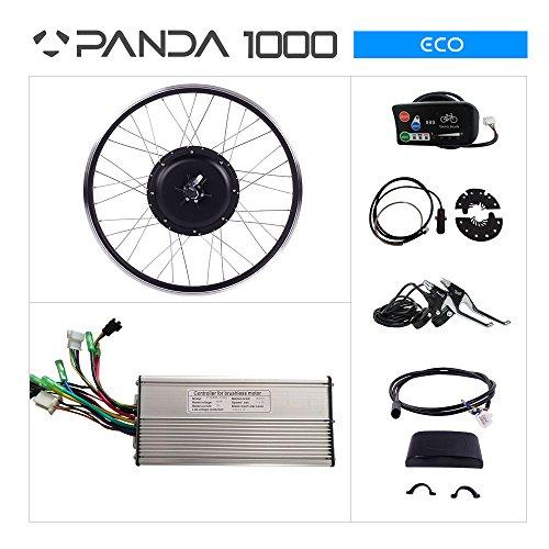 PANDA 1000ECO BICICLETA ELECTRICA KIT: 48V 1000W MOTOR  PANTALLA LED 28700C TRASERA PARA BICICLETA MOTOR