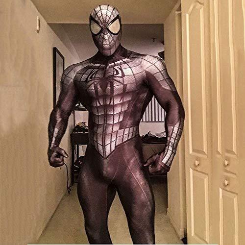 Spiderman Kostüm Kind Erwachsener Cosplay Kostüm Superhelden Halloween Mottoparty Onesies 3D Druck Spandex - Spiderman Kostüm Realistisch