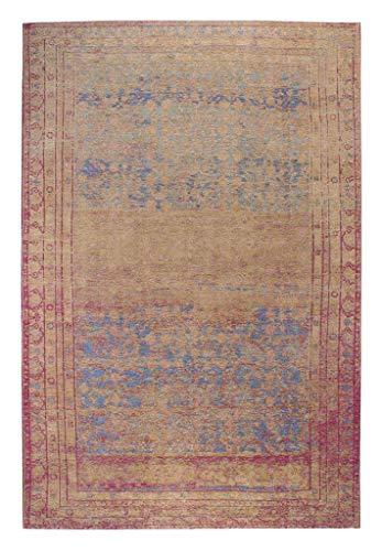 Luxor Living Vintageteppich Barock, Designerteppich, hochwertig, robust, pflegeleicht, Größe:80 x 150 cm -