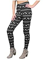 Pardalix Damen Leggings Teddy Fleece