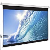 Motorized 8x10d Wall and Ceiling Projector Screens
