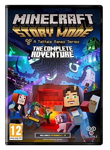 Minecraft Story Mode Complete Adventure (PC DVD) [UK IMPORT]