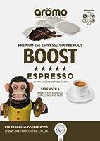 Aromo 'BOOST' - ESE Coffee Pods 44mm - Premium Espresso Pods - 100 Pk