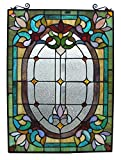 'Fine Art Beleuchtung Tiffany Fenster Panel, 18von 24, 204Glas Schnitte