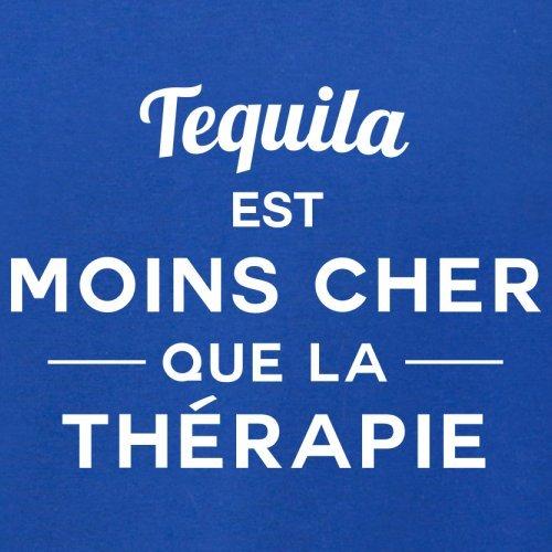 Tequila est moins cher que la thérapie - Femme T-Shirt - 14 couleur Bleu Royal