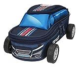 Depesche 10248 - Schlampertasche in Autoform mit Rädern, Monster Cars