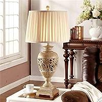 Global Europäische Retro Geschnitzte Große Tischlampe Luxus Wohnzimmer  Schlafzimmer Nachttischlampen Kreativen Art Und Weise Im