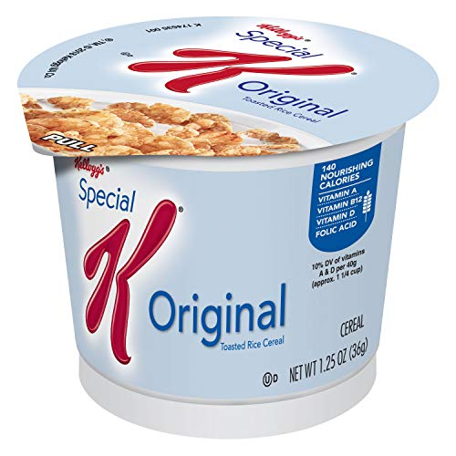 Special K Cereal, Original, 1.25-Ounce Cups (Pack of 12)