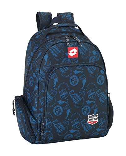 Safta 077094 Lotto Mochila Tipo Casual, Color Azul