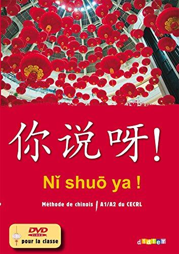 NI shuo ya ! niv. A1/A2 - Coffret Classe 3 CD audio + 1 DVD