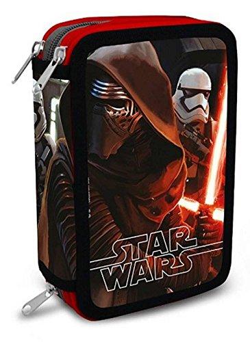 Star Wars Ep VII, il Risveglio della Forza, kylo Ren, Stormtrooper, Astuccio 3 zip SR16109