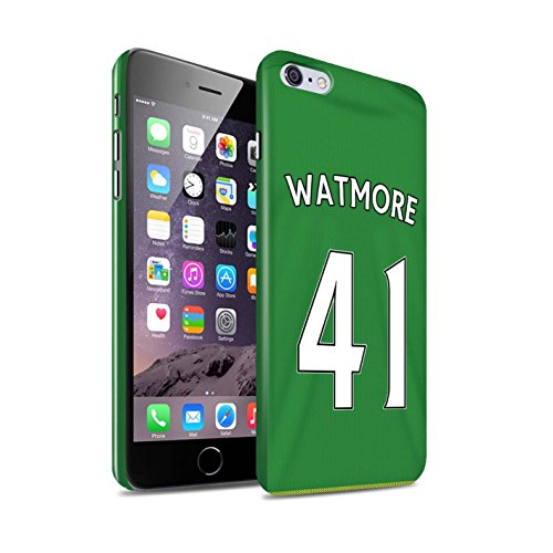 Offiziell Sunderland AFC Hülle / Glanz Snap-On Case für Apple iPhone 6+/Plus 5.5 / Torwart Muster / SAFC Trikot Away 15/16 Kollektion Watmore
