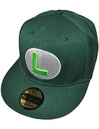 Underground Kulture Vert Luigi Super Mario Casquette de Baseball Réglable (Green)