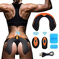 MATEHOM Hips EMS Muscle Stimulator,Electronic backside Muscle Toner, Smart Wearable Buttock Toner trainer For Men Women,pygal Slimming Machine