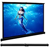 Mini Projection Screen Foldable 40 Inch 4:3 HD Tabletop Projector Screen For Home Theater Office Business Presentation Outdoor Indoor