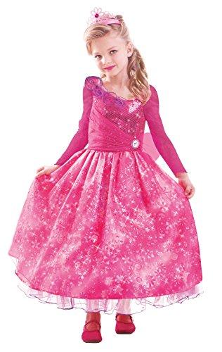 Kostüm Prinzessin Barbie - Barbie and The Secret Door Kostüm Kleid Gr. 132 134 Prinzessin