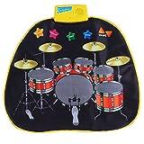 Tenlacum Musical Blanket Jazz Tambour Mat Jazz Tambour Musique Tapis jouet éducatif pour bébé Enfants 72 * 62 CM