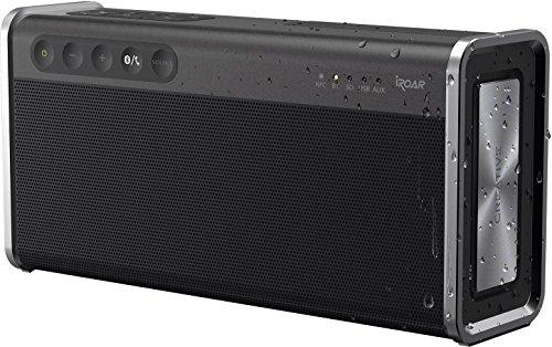 Creative iRoar Go Enceinte Bluetooth à 5 Haut-parleurs résistante aux intempéries/Riche en fonctionnalités Noir