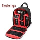 Kompakte Kamera Rucksack professionelles Space Intervall und große Kapazität für Digitalkamera SLR Kamera Tasche Fotografie Rucksack Photographic Tools Pack , Red