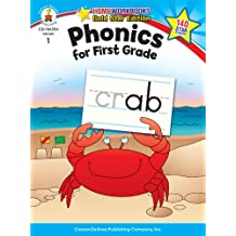 Phonics for First Grade Grade 1 (Home Workbooks: Gold Star Edition)