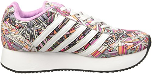 K-Swiss New Haven Platform Mod Synthétique Baskets PnkCld-Wht-Mod