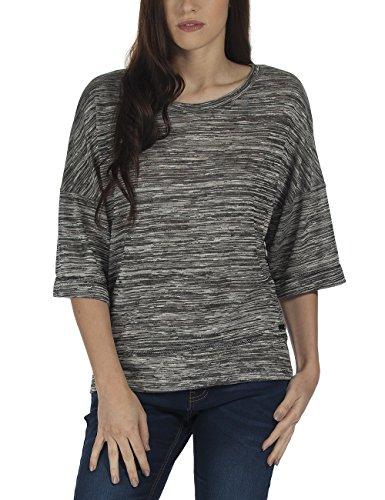 Bench Veer - Sweat-shirt - Femme Noir - Schwarz (Jet Black Marl BK014X)