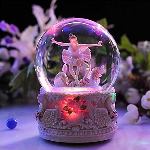 YYHKYB® Ragazze di balletto di sfera di cristallo di music