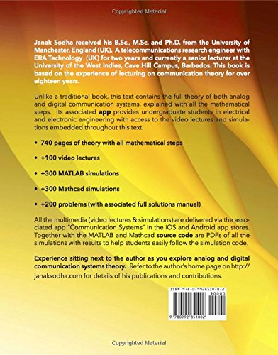 Fundamentals Of Communication Systems Theory Video Lectures Matlab And Mathcad Simulations Buy Online In Aruba Appbooke Products In Aruba See Prices Reviews And Free Delivery Over 120 ƒ Desertcart