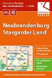 Klemmer Pocket Rad- und Wanderkarte Neubrandenburg - Stargarder Land: GPS geeignet, Erlebnis-Tipps auf der Rückseite, 1:50000 -