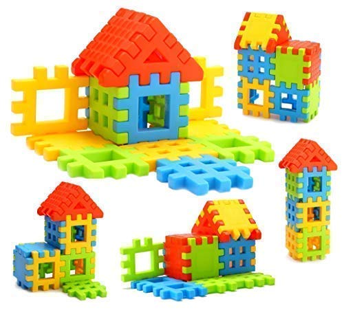 Sartham, Building Block Toy For Kids (Age 2 To 5, Multicolor)