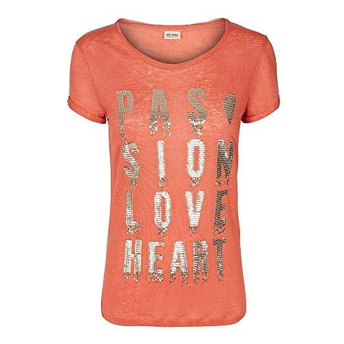 Mos Mosh Crave Drop T-Shirt Burnt Sienna - M