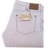 BURBERRY 2095 Pantalone Righe London Uomo Trousers Men [37]