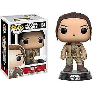 Funko Pop Rey con chaqueta de Finn (Star Wars 161) Funko Pop Star Wars