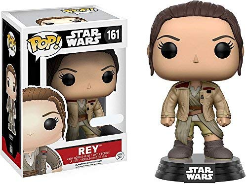 Funko Pop Rey con chaqueta de Finn (Star Wars 161) Funko Pop Star Wars