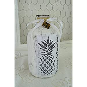 Unikat handgemacht Vase 'Pineapple Paradies'