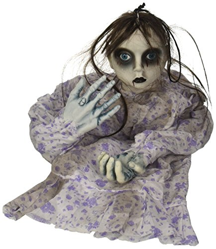 Widmann 01393 - decorazione per feste halloween 'bambola assassina'