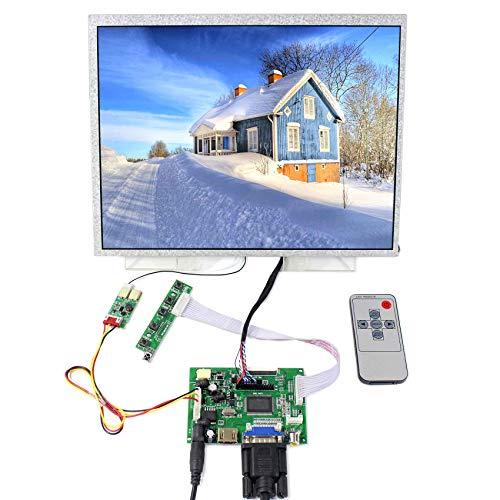 LCD-Bildschirm mit Hintergrundbeleuchtung, 30,48 cm (12,1 Zoll), 1.024 x 768 LED, mit HDMI VGA AV LCD Controllerplatine - Bildschirm Mit Hintergrundbeleuchtung