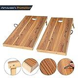 OOFIT Massivholz Cornhole Board Set,2 Cornhole Board und 8 Cornhole Bags,60 * 120CM