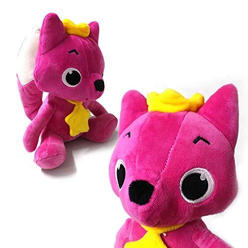 leegoal Animiertes Plüsch-Spielzeug, niedlicher roter Fuchs Handpuppe sprechend singend Stofftier Spielzeug Geschenk Set für Kinder Freundinnen (Sprechende Handpuppe)