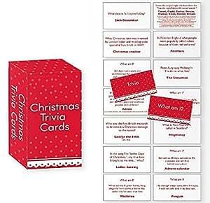 Trivia Jeu de cartes qui suis-je? enfile crackers de Noël remplissage cadeau Cadeau Enfants famille amusant d'activité