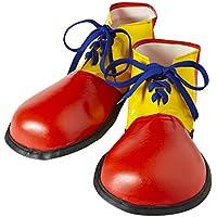 WIDMANN wdm9146p–Disfraz para adultos zapatos payaso tamaño adulto, multicolor, talla única