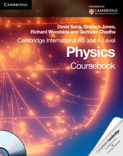 Cambridge International AS Level and A Level Physics Coursebook with CD-ROM (Cambridge International Examinations) by David Sang (1-Jul-2010) Paperback