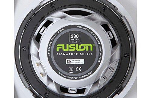Fusion Marine High Performance Lautsprecher-Gitter, Classic, weiß 6.5 cm -