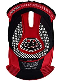 Troy Lee repuesto D3 casco cabeza Liner - rojo, medio